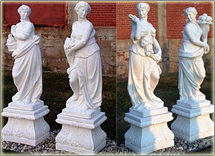 Seasons Statue Set